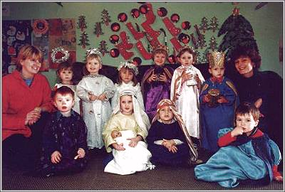 Playgroup Nativity at Sedley Centre